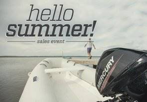 Mercury Marine Hello Summer! Sales Event