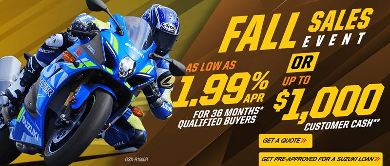 Suzuki - Fall Sale Event