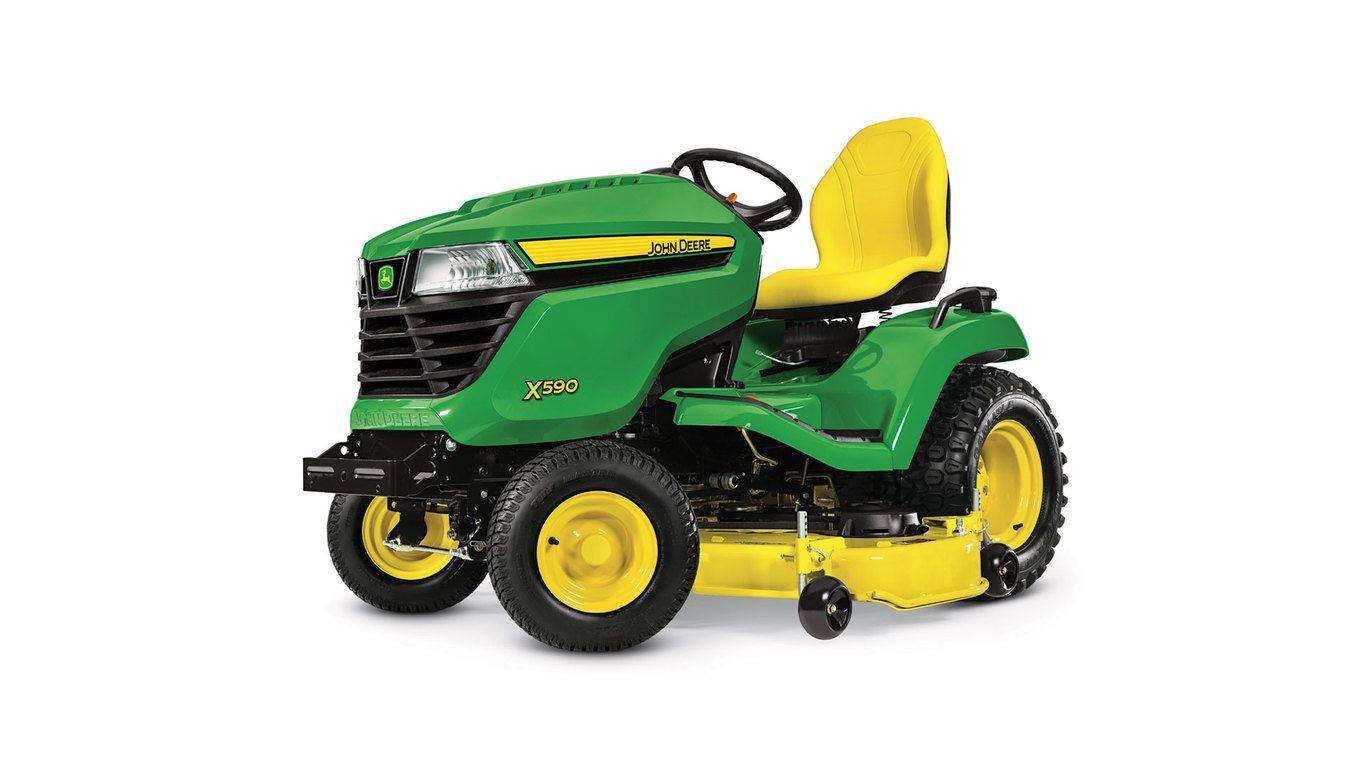 John Deere 4.90% APR fixed rate for 48 Months on New John Deere X500 Select Series Lawn Tractors