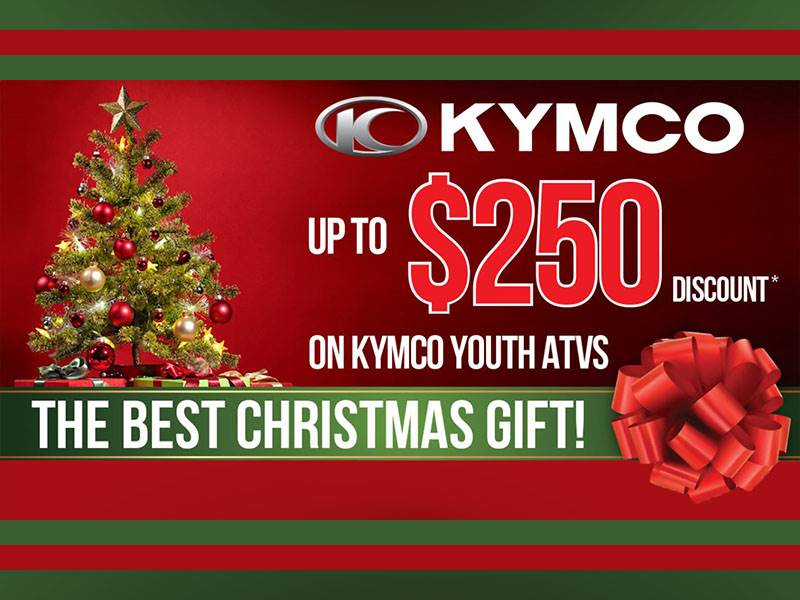 Kymco - The Best Christmas Gift!
