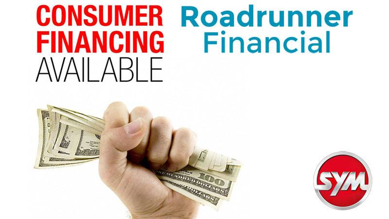 SYM - Consumer Financing from Roadrunner Financial
