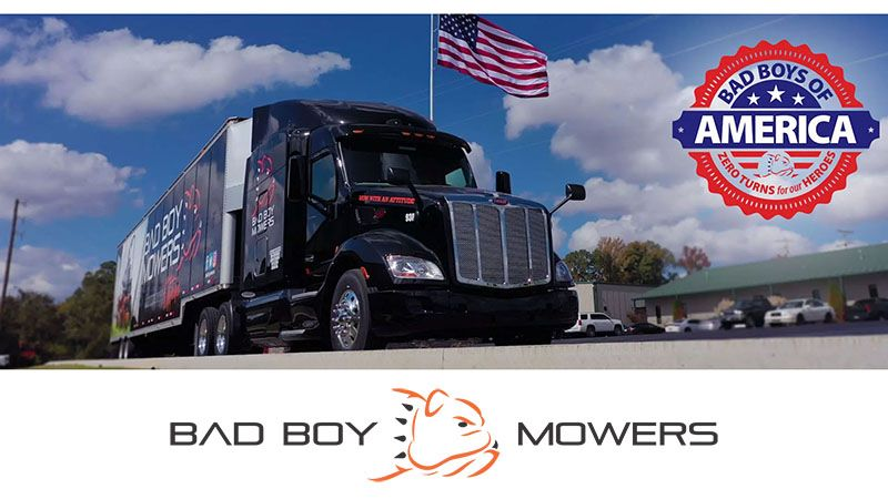 Bad Boy Mowers - Veterans & Service Discount