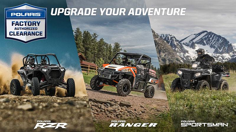 Polaris - Factory Authorized Clearance - Offroad