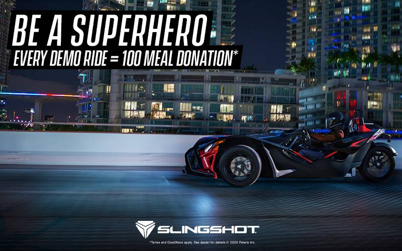 Slingshot - Drive For Good