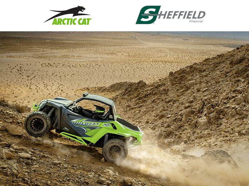 Arctic Cat - Sheffield Retail Financing Programs (8.99% - 6.99% for 60 Months)