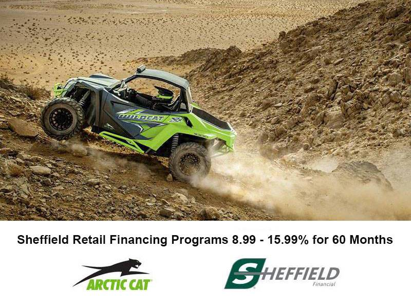 Arctic Cat - Sheffield Retail Financing Programs 8.99 - 15.99% for 60 Months