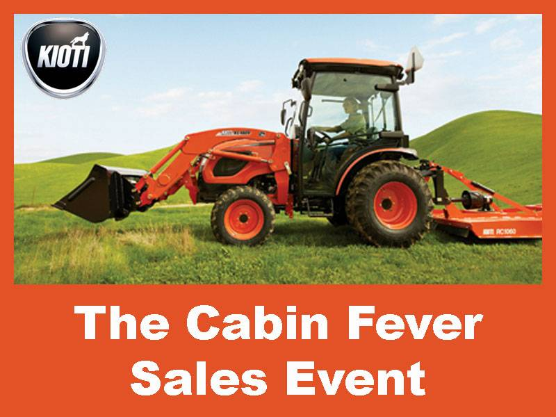 Kioti - The Cabin Fever Sales Event
