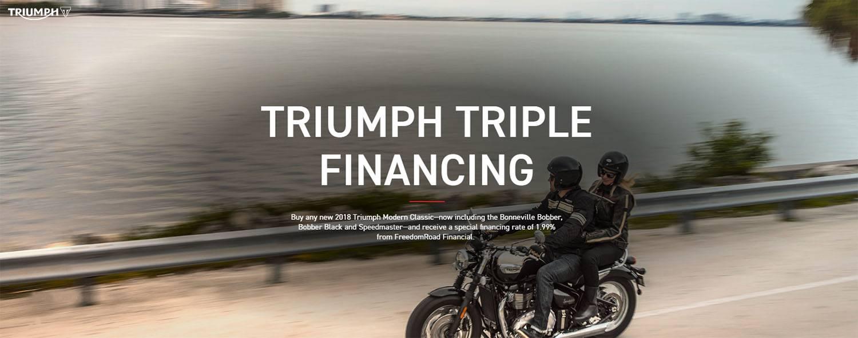 TRIUMPH TRIPLE FINANCING