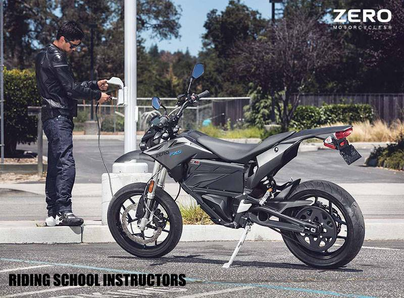 Zero Motorcycles - Riding School Instructors