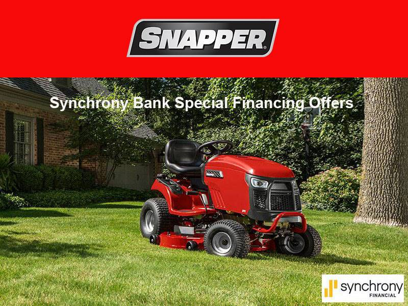 Snapper - Synchrony Bank Special Financing Offers