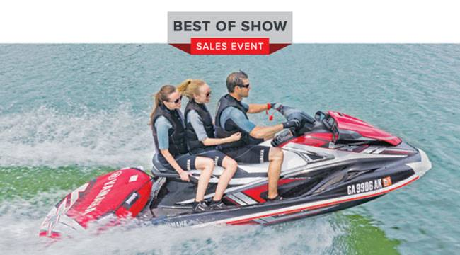 Yamaha Motor Corp., USA Yamaha Waverunners - Best of Show Sales Event - 2.99% APR