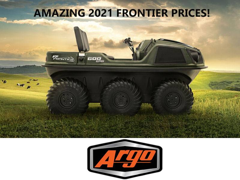 Argo - Amazing 2021 Frontier Prices!