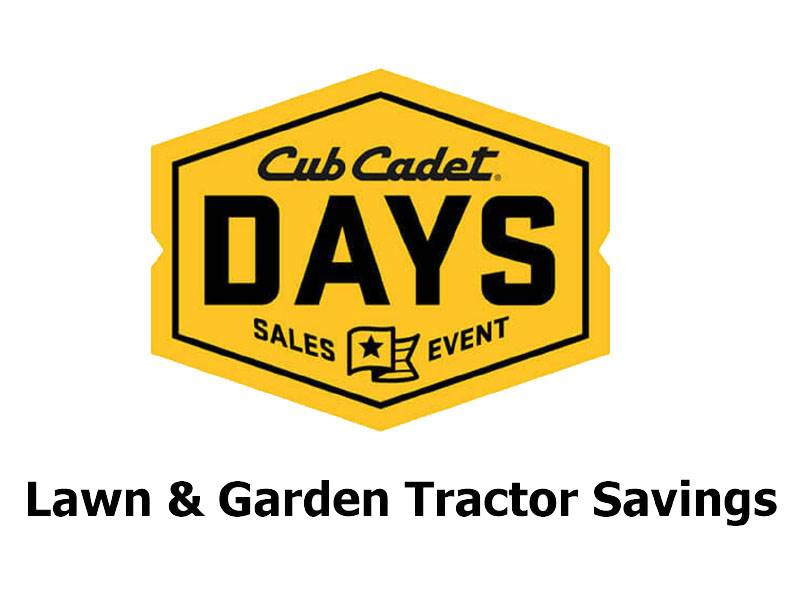 Cub Cadet - Lawn & Garden Tractor Savings