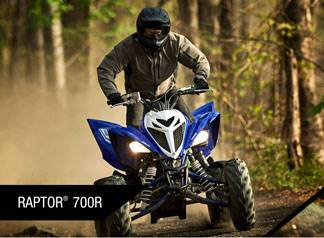 Yamaha Motor Corp., USA Yamahas - Sport ATV - Current Offer