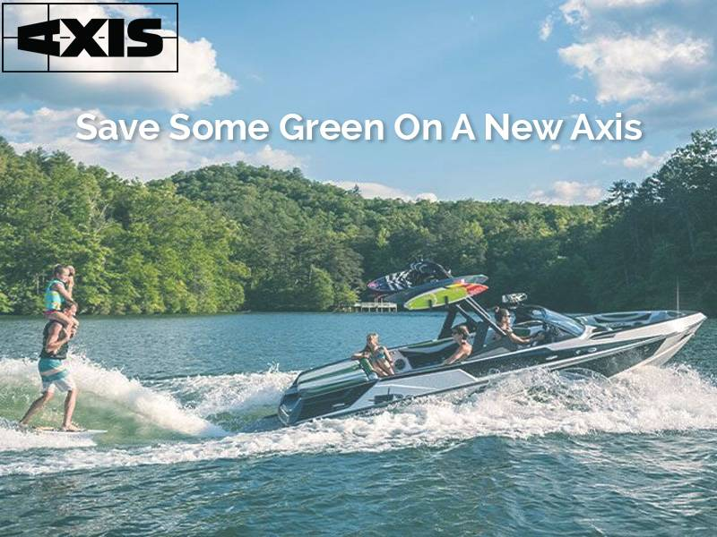 Axis - Save Some Green On A New Axis