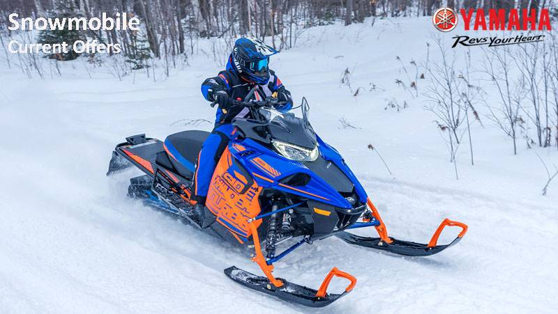Yamaha Snowmobile - Customer Cash