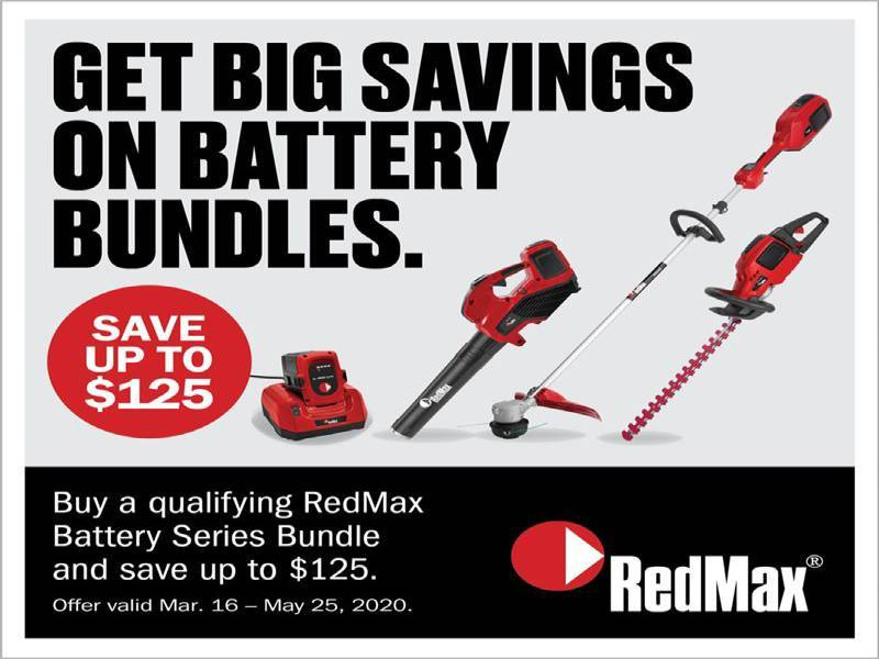 RedMax - Battery Savings Promotion