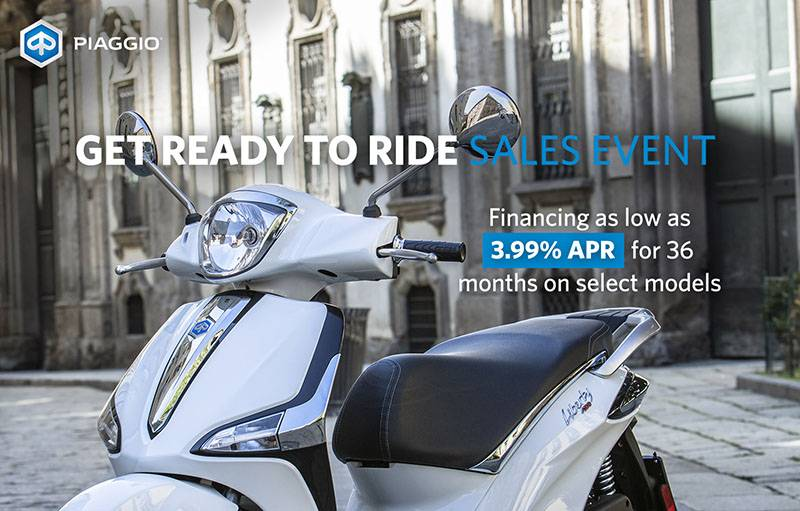 Piaggio - Get Ready To Ride Sales Event