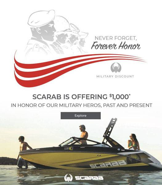 Scarab Jet Boats - NEVER FORGET, Forever Honor