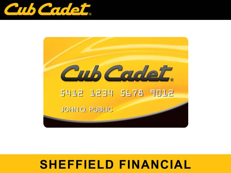 Cub Cadet - Sheffield Financial
