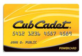 Cub Cadet - Sheffield Financing Offers