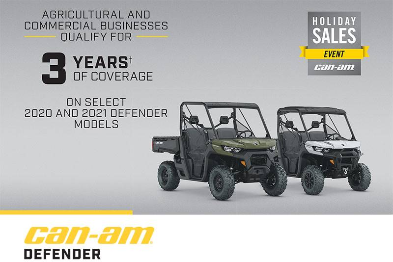 Can-Am - Farmers and Ranchers Rebate - Holiday Sales Event