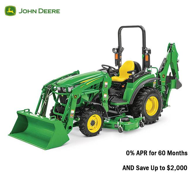 John Deere - 0% APR and $2,000 Savings