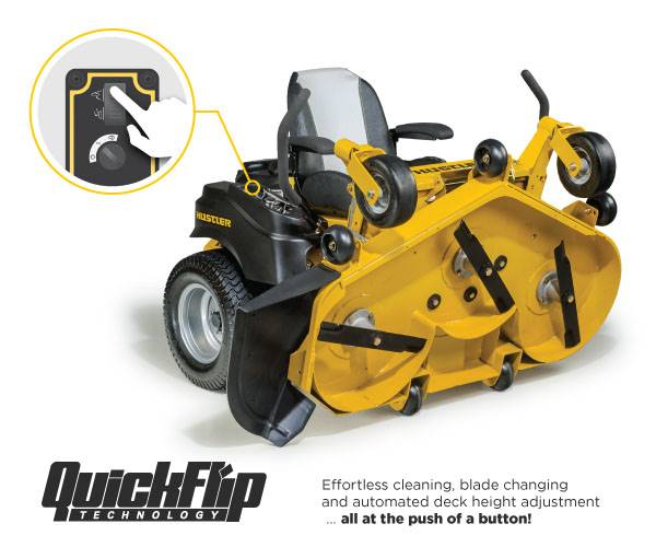 Hustler Turf Equipment Hustler - RAPTOR® FLIP-UP PROMO