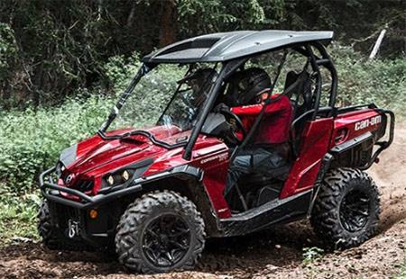 Can-Am - Ready To Ride Sales Event - Commander Rebates