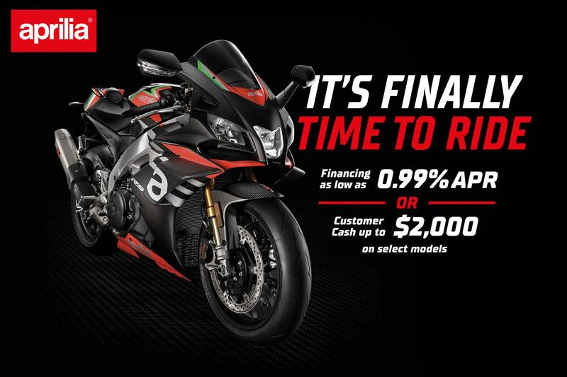 Aprilia - It's Finally Time to Ride