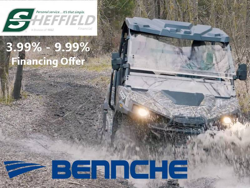 Bennche - Sheffield Financing Offer 3.99% - 9.99%