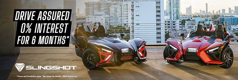 Slingshot - Drive Assured - 0% Interest for 6 Months*