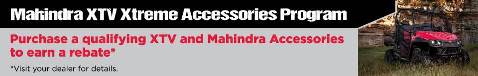 Mahindra XTV Xtreme Accessories Program
