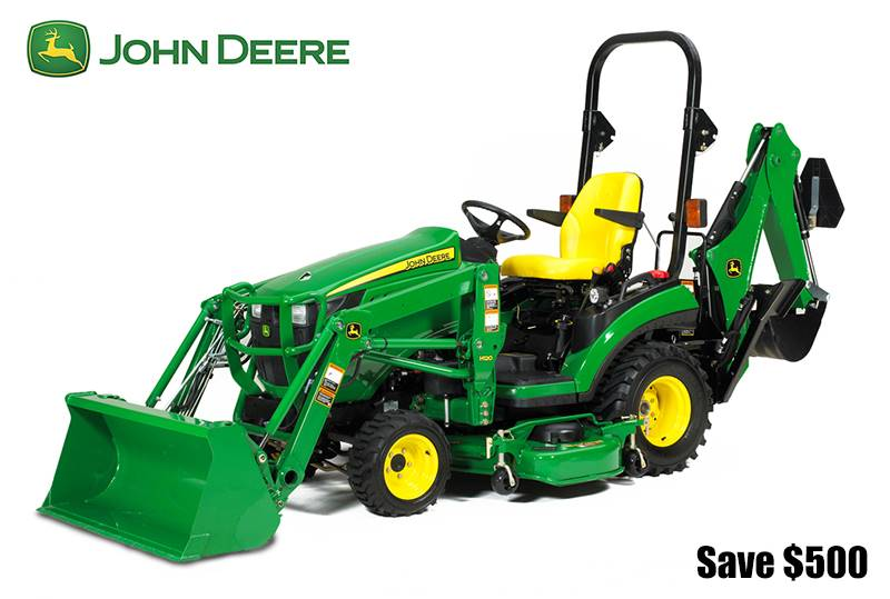 John Deere - Save $500 on 1 Series Sub Compact Tractors