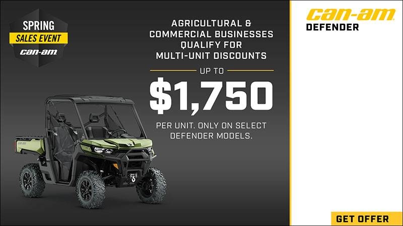 Can-Am - Farmers and Ranchers Loyalty and Multi-Unit Program - Spring Sales Event
