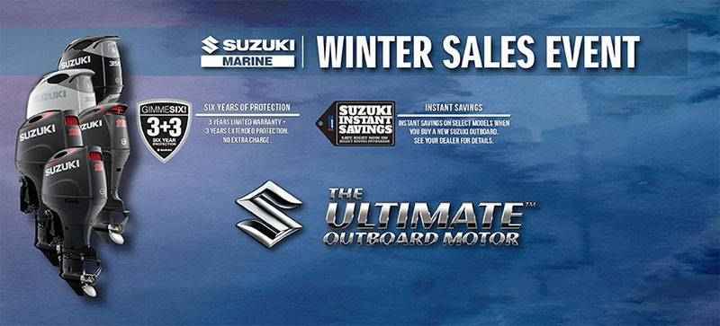 Suzuki Marine - January - Year of the Deal Customer Rebates