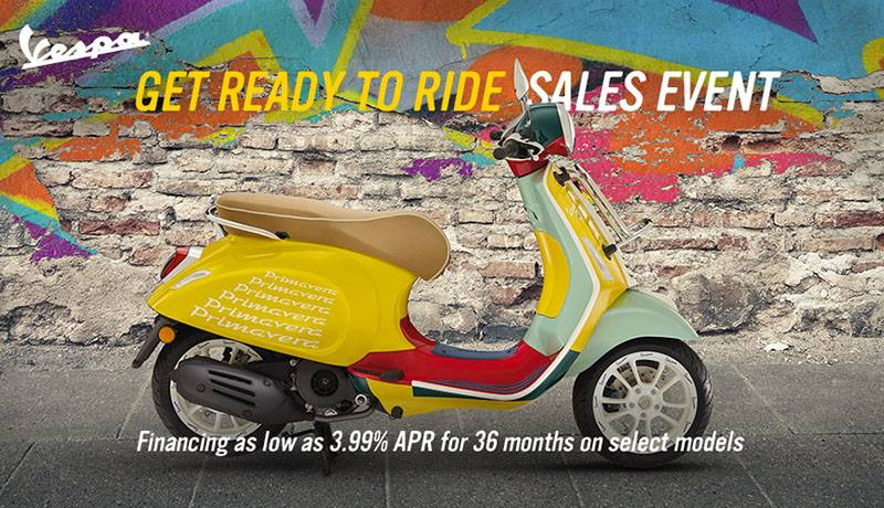 Vespa - Get Ready To Ride Sales Event