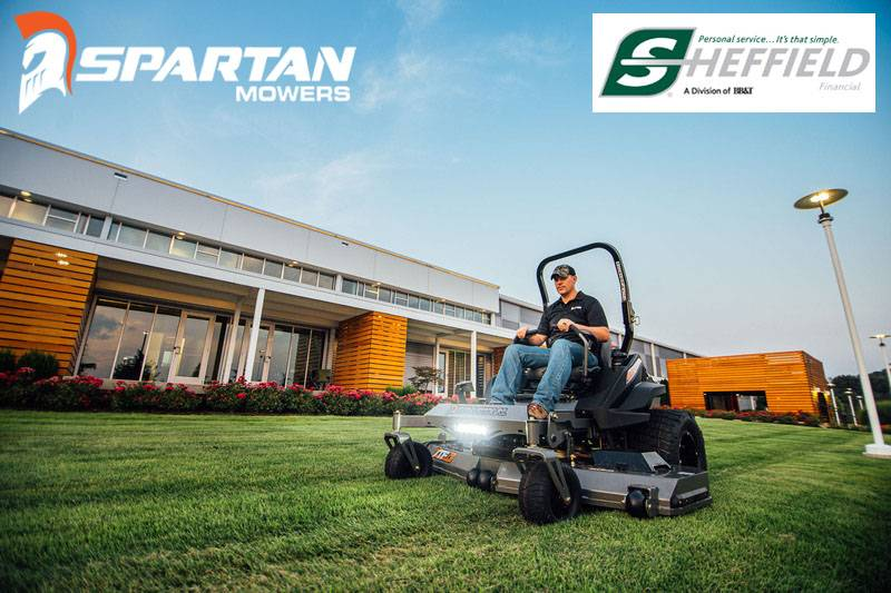 Spartan Mowers - Sheffield Financial Programs (90 Days No Int w/Pymts 10.49% X 36 Mos)