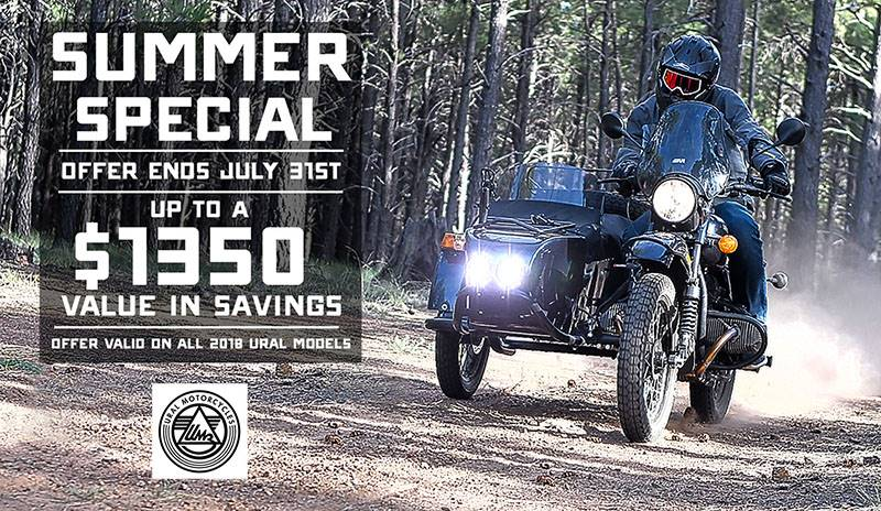 Ural Russian Motorcycles - Summer Special
