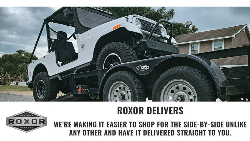 Mahindra Automotive NA- Roxor Delivers
