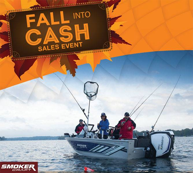 Smoker Craft - Fall Into Cash Sales Event