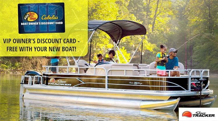 Sun Tracker - Boat Owner's Discount Card