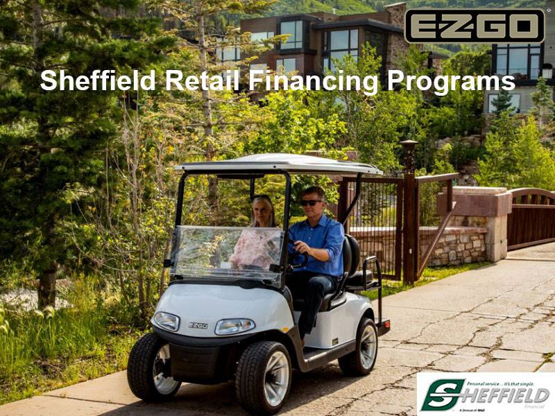 E-Z-GO - Sheffield Retail Financing Programs