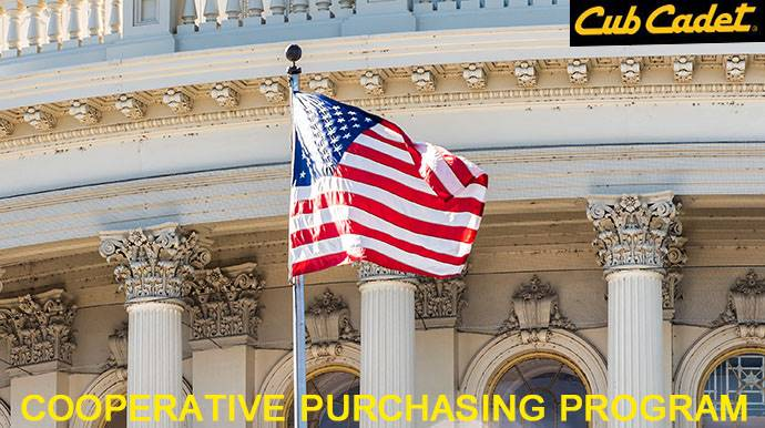 Cub Cadet - Special Offers - Cooperative Purchasing Program