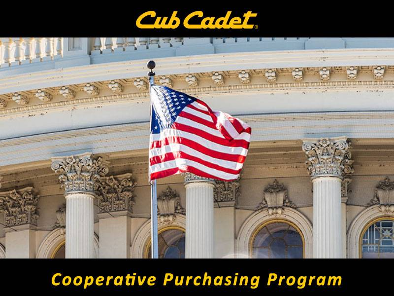 Cub Cadet - Cooperative Purchasing Program