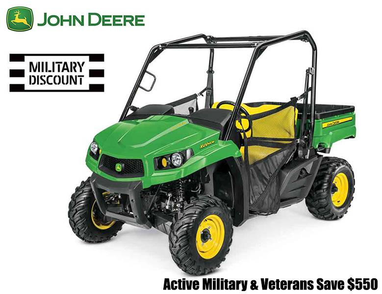 John Deere - Active Military & Veterans Save $550