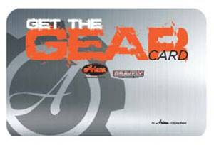 "Gravely USA Gravely - Synchrony ""Get the Gear"" Card"