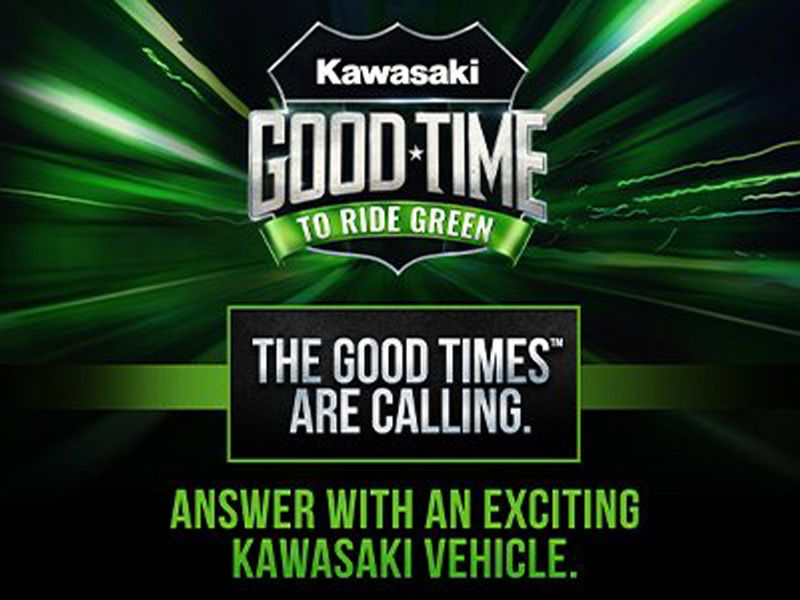 Kawasaki - Good Time To Ride Green