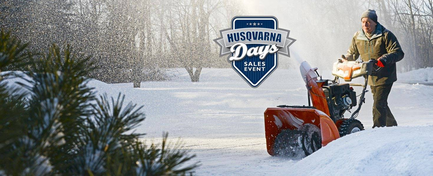 Husqvarna Power Equipment - Snow Husqvarna Days