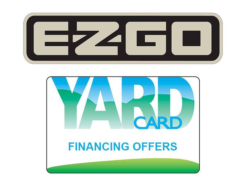 E-Z-GO - Yard Card Financing Programs